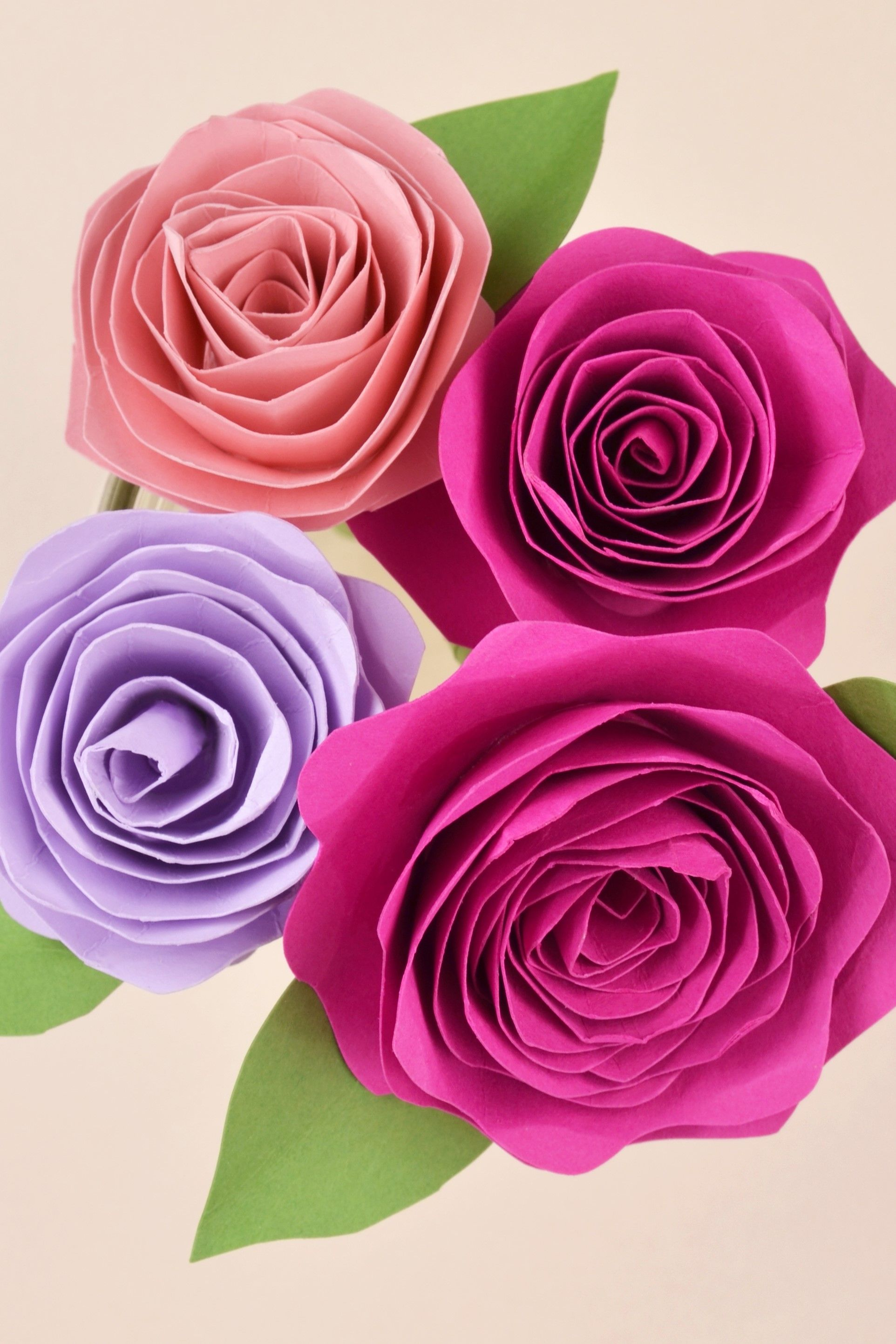 Easy Diy Paper Flower Tutorial Paper Flower Tutorial Paper