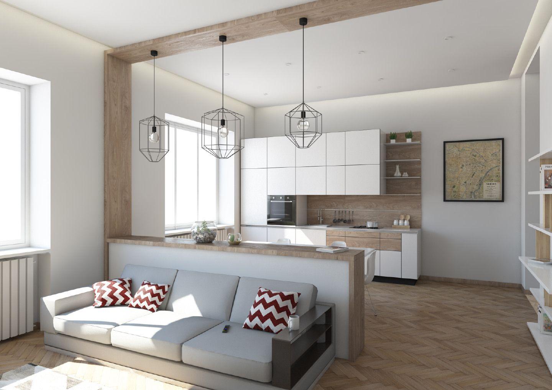 Cucina Soggiorno Stretta E Lunga pin su soggiorno cucina