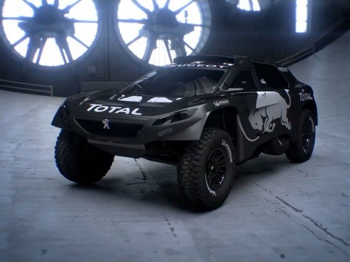 Peugeot 2008 DKR16 evolves the 2008 DKR Dakar car   Race Cars ...