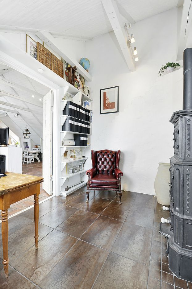 Gorgeous White Attic Penthouse Pinterest Attic, Penthouses and - küche in dachschräge
