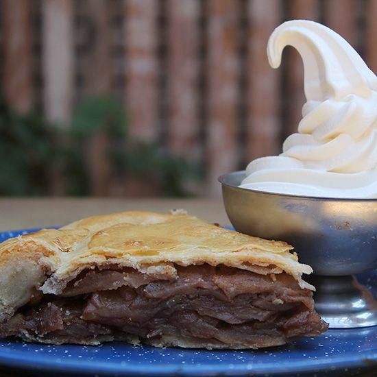American Apple Pie van de barbecue