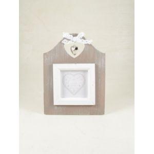 Cornice portafoto legno con cuore Cornici, Portafoto