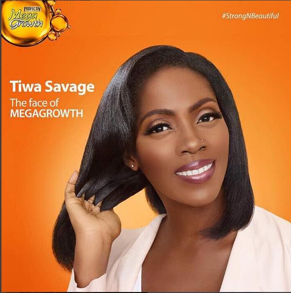 Tiwa Savage Nabs Endorsement Deal With Profectiv