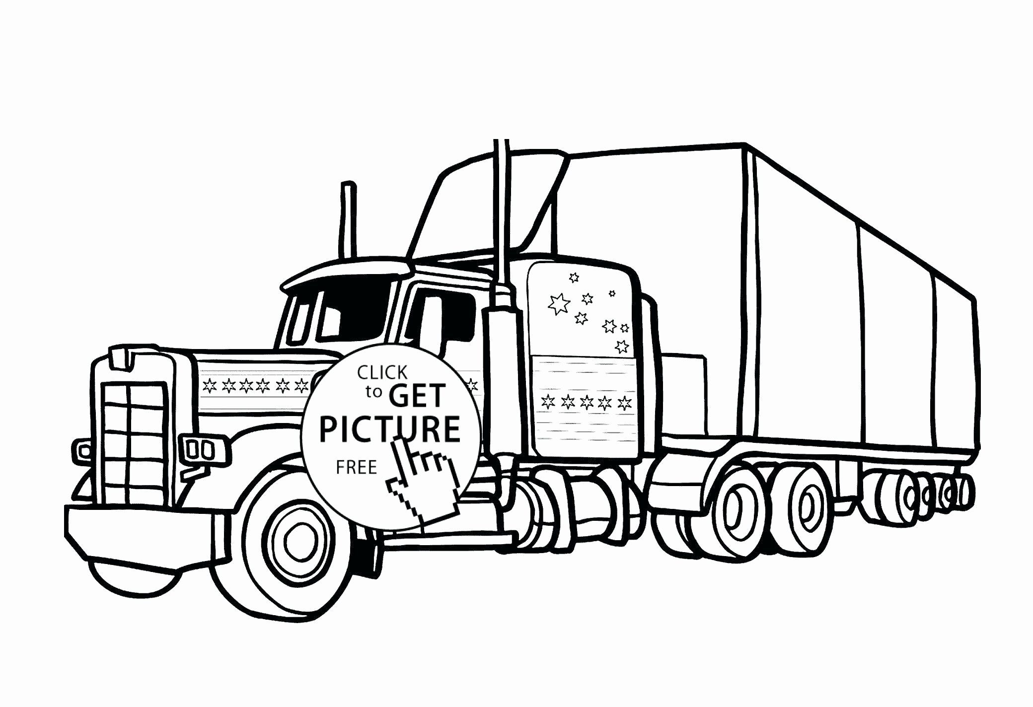 Coloring Transportation In 2020 Truck Coloring Pages Tractor