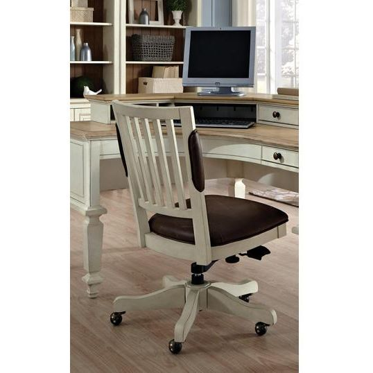 Cottonwood Antique White Office Chair Rc Willey Home Furnishings White Office Chair Home Furniture