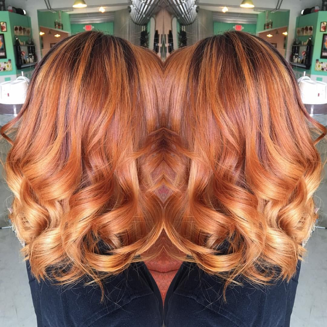 Saravondoll On Instagram Copper Hair With A Shadow Root