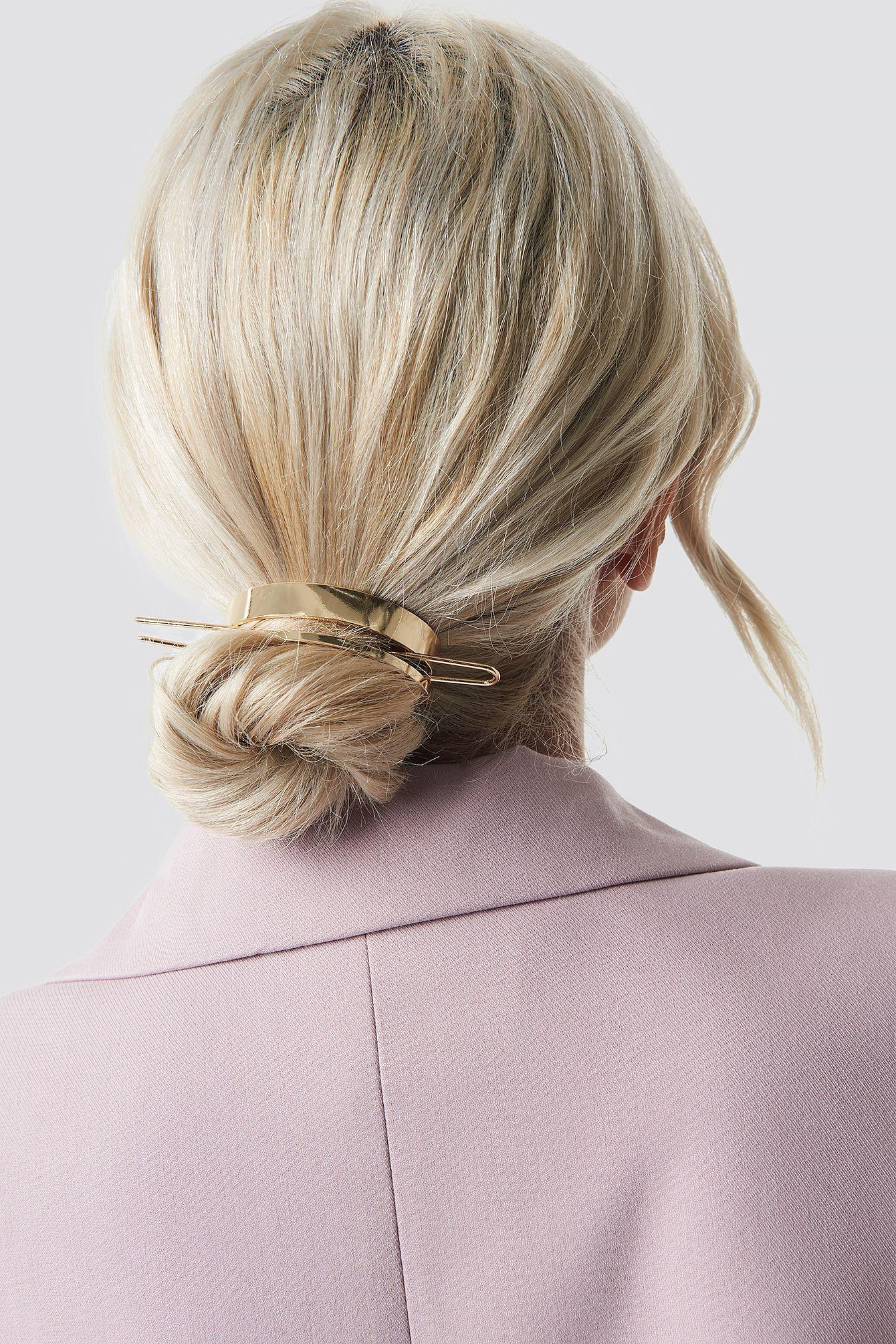 Circle Hair Pin In 2020 Frisuren Kurz Haarnadeln Haar Styling