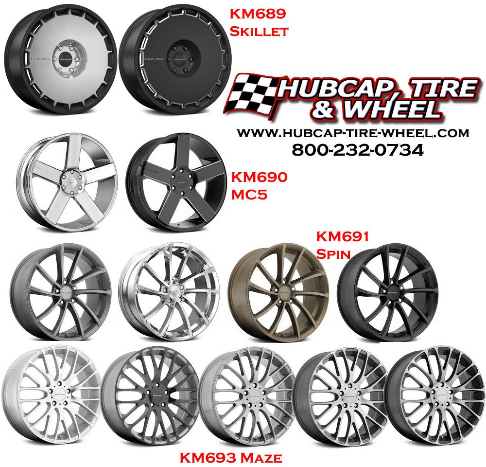 See all the new 2015 kmc wheels that are now available on our web site