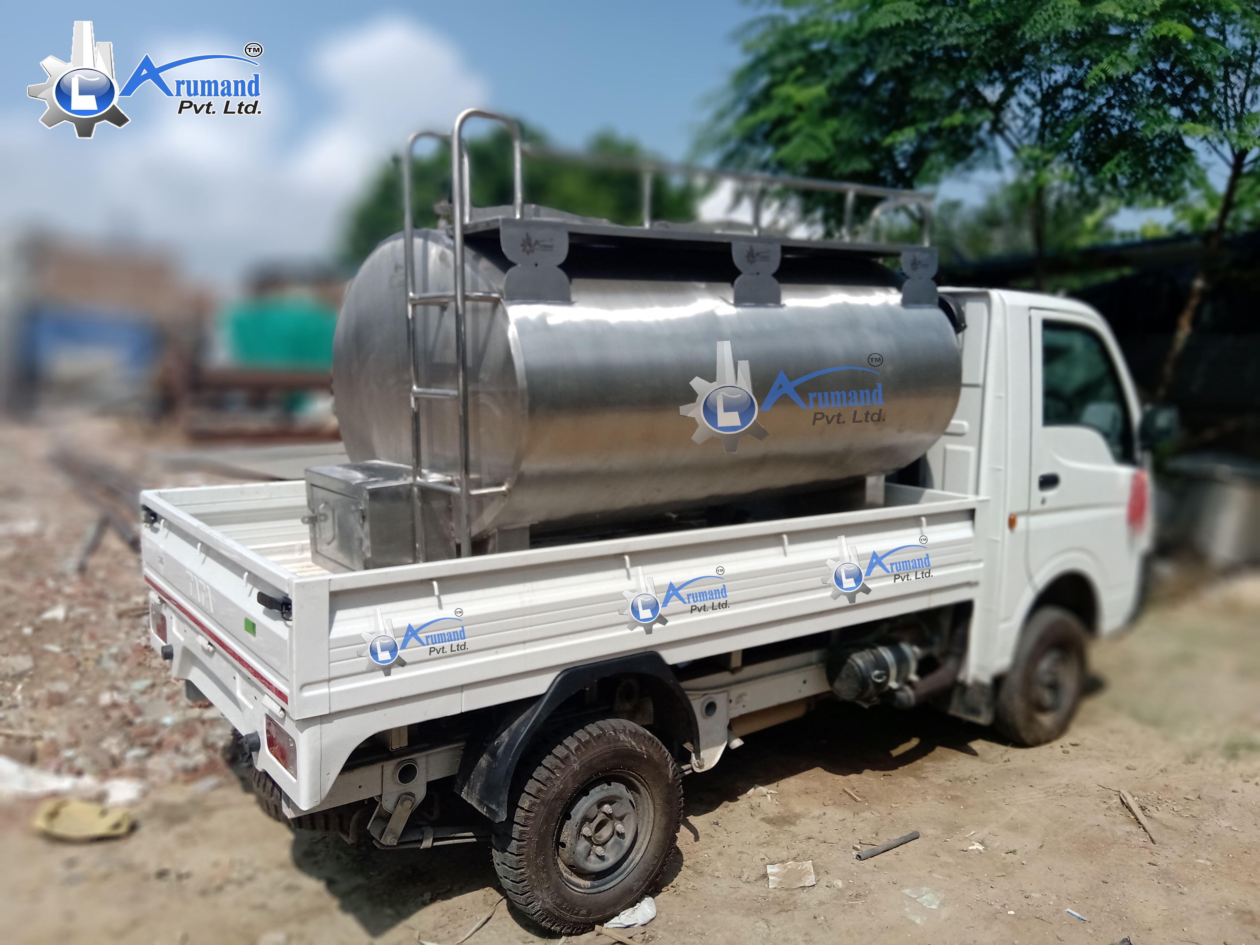 Used Milk Truck Tanks For Sale