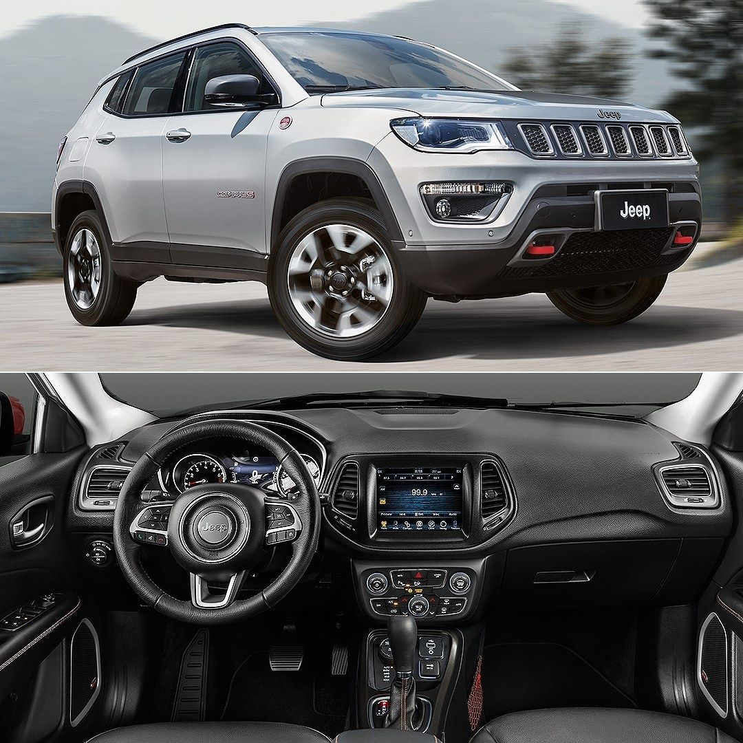 jeep compass trailhawk diesel 4x4 2017 fabricado em pernambuco o irm o mais velho do renegade. Black Bedroom Furniture Sets. Home Design Ideas
