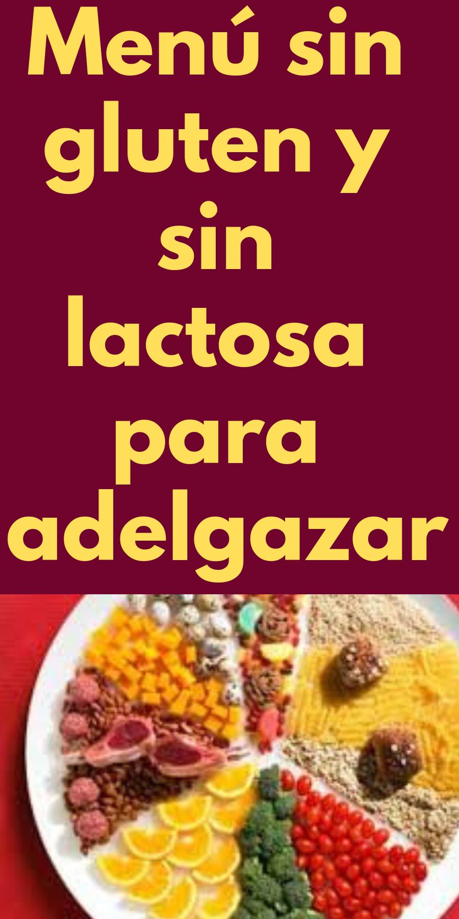 adelgazar con dieta sin lactosa