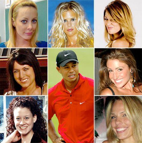 BERNICE: Tiger Woods Redhead Girlfriend