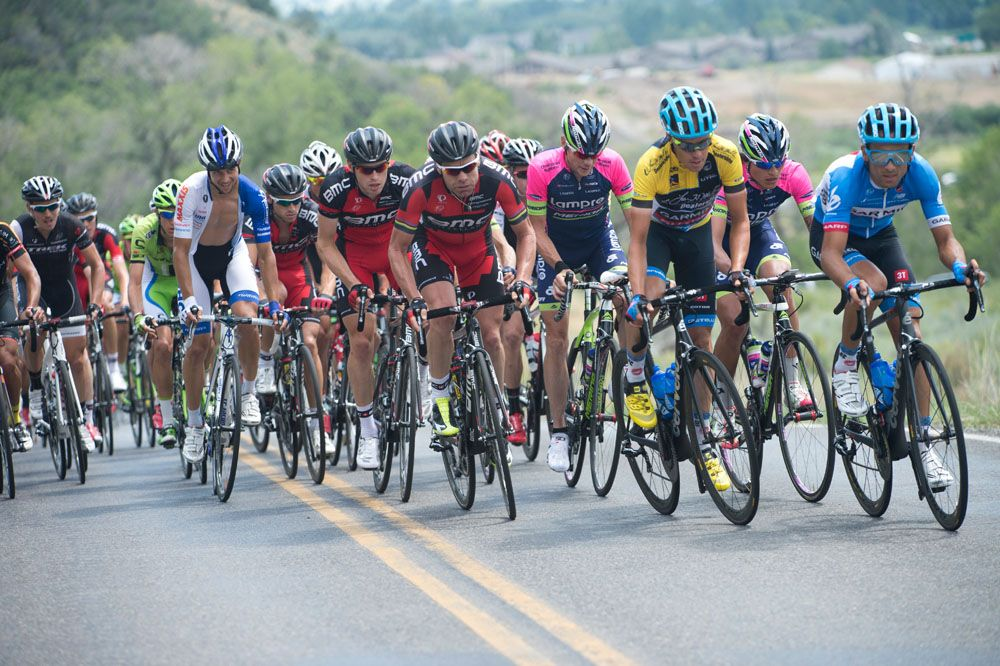 Gallery 2014 Tour of Utah, stage 7 The leading group of