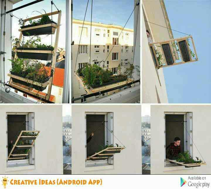 Garden Windows, Window Planters