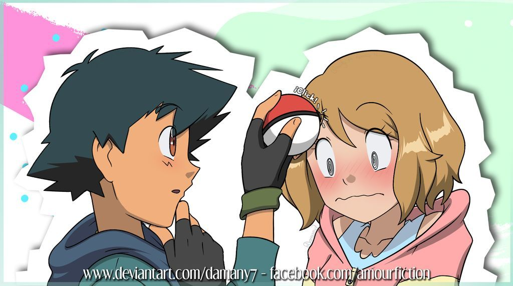 Amourshipping Evento Amourfiction 03 By Damany7 Pokemon Ash And Serena Pokemon Pictures Cute Pokemon