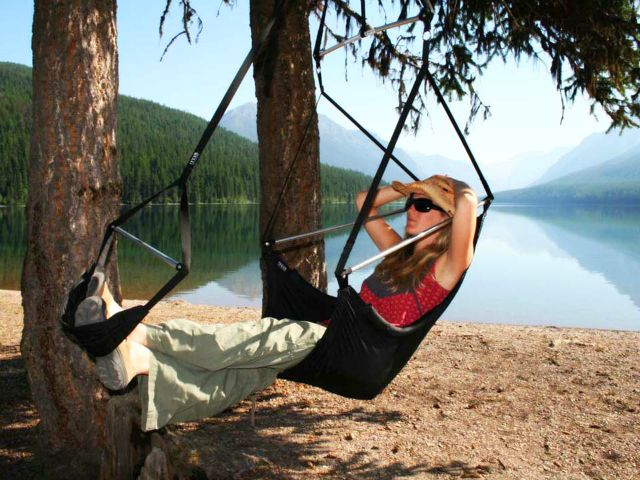 Eno Lounger Chair The Hammock And Chair Hybrid Eno