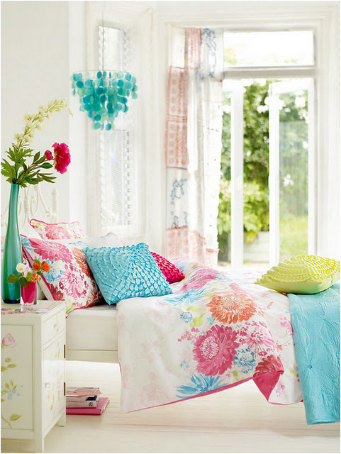 Vintage Style Teen Girls Bedroom Ideas   Love The Fresh Colour And The  Bright Airy Feel