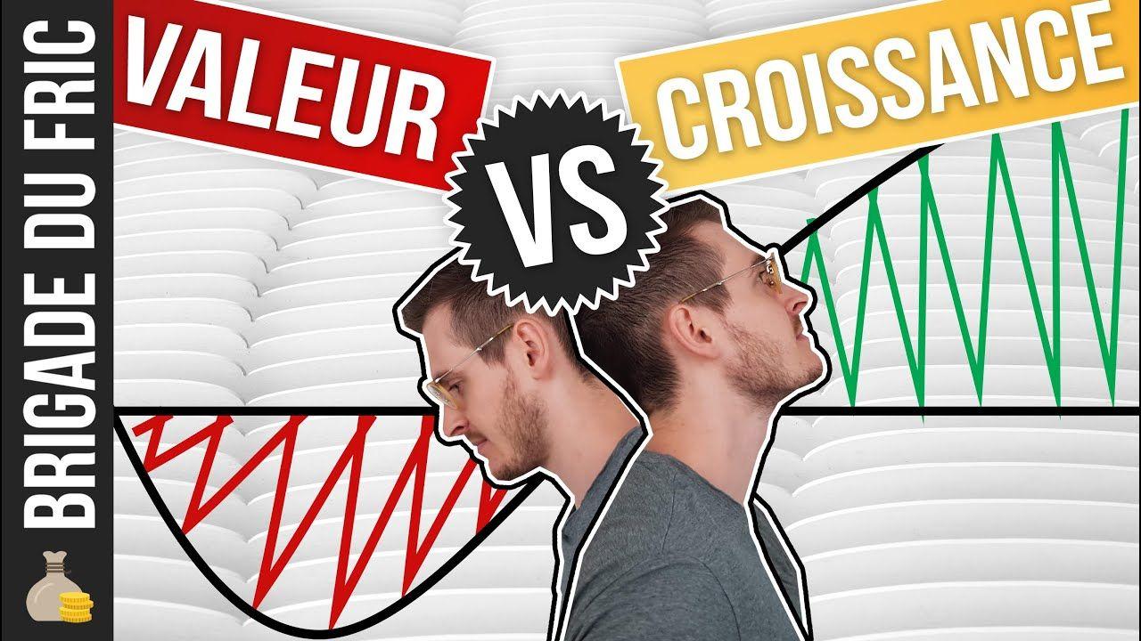 Actions de Valeur vs Croissance Investir en bourse