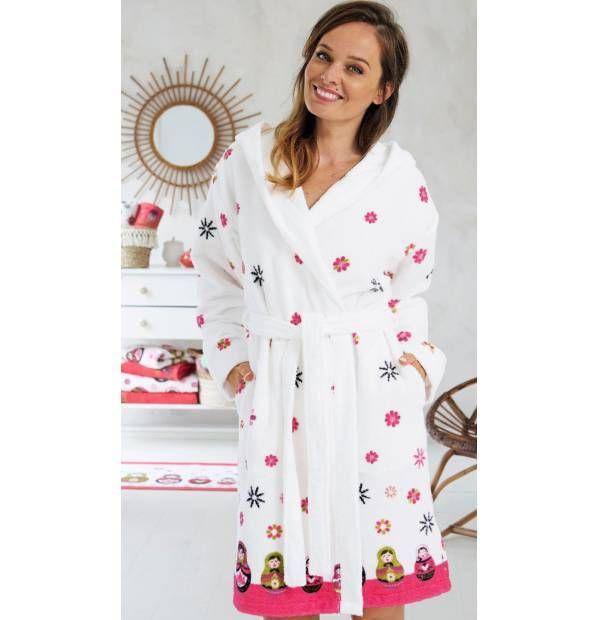 579b988889776 Peignoir Jolies babouchkas | Peignoirs tout doux | Robe, Dresses et ...
