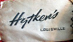 Hytken's, from a 1960s coat