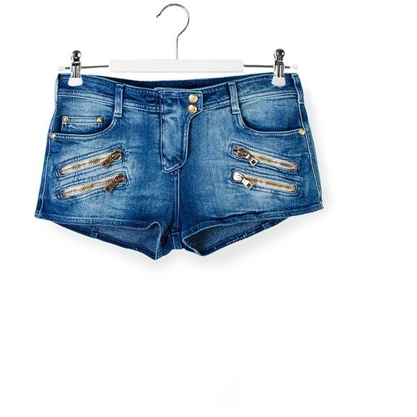 DENIM - Denim shorts Balmain