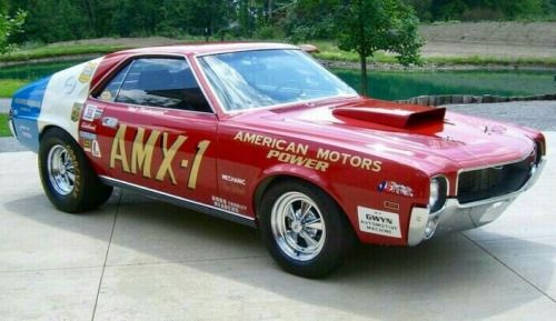 Red White And Blue Auto Sales >> Red White And Blue Amx Cars Pony Car Race Cars American