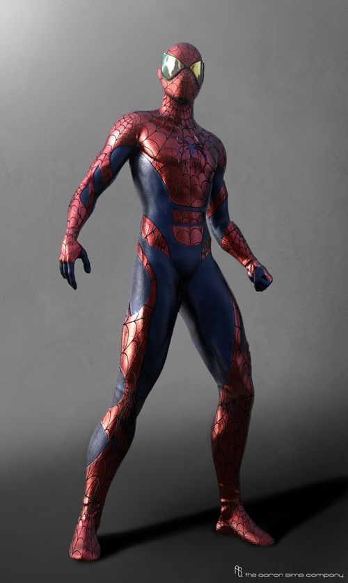 Concept alternative costume for TASM 2 | Awesome stuff ...