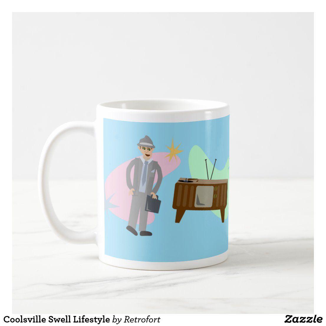 Coolsville swell lifestyle coffee mug mugs mugs for men