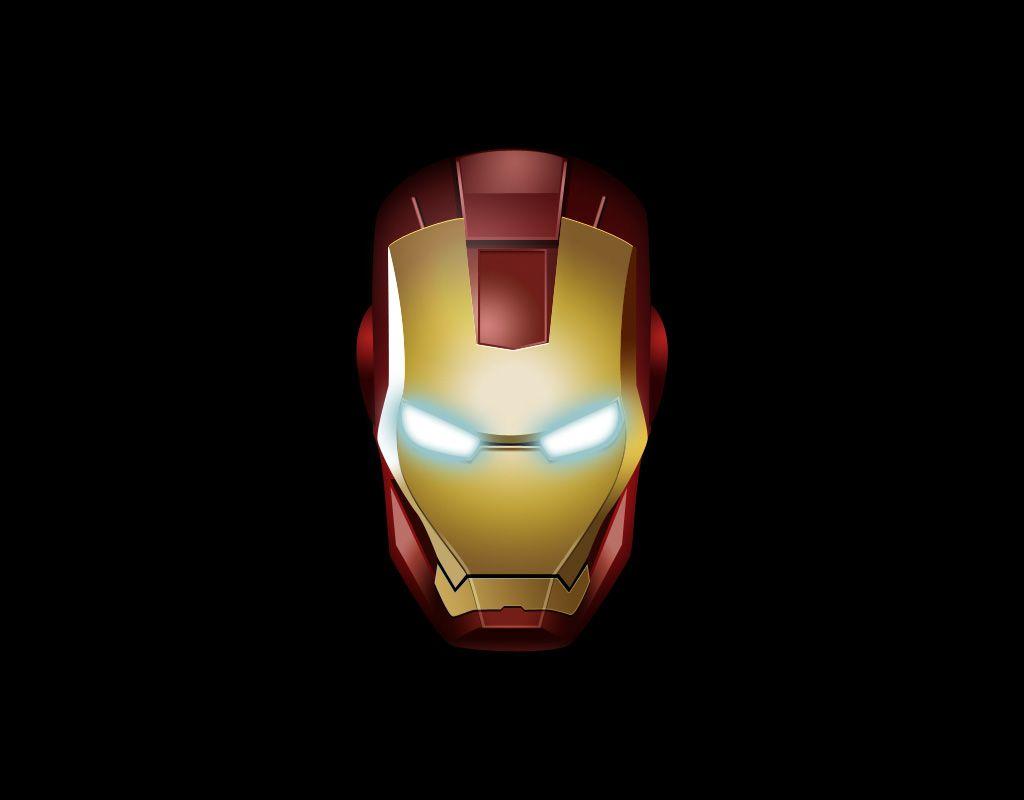 Iron Man Wallpaper 34447: Iron Man Logo Hd