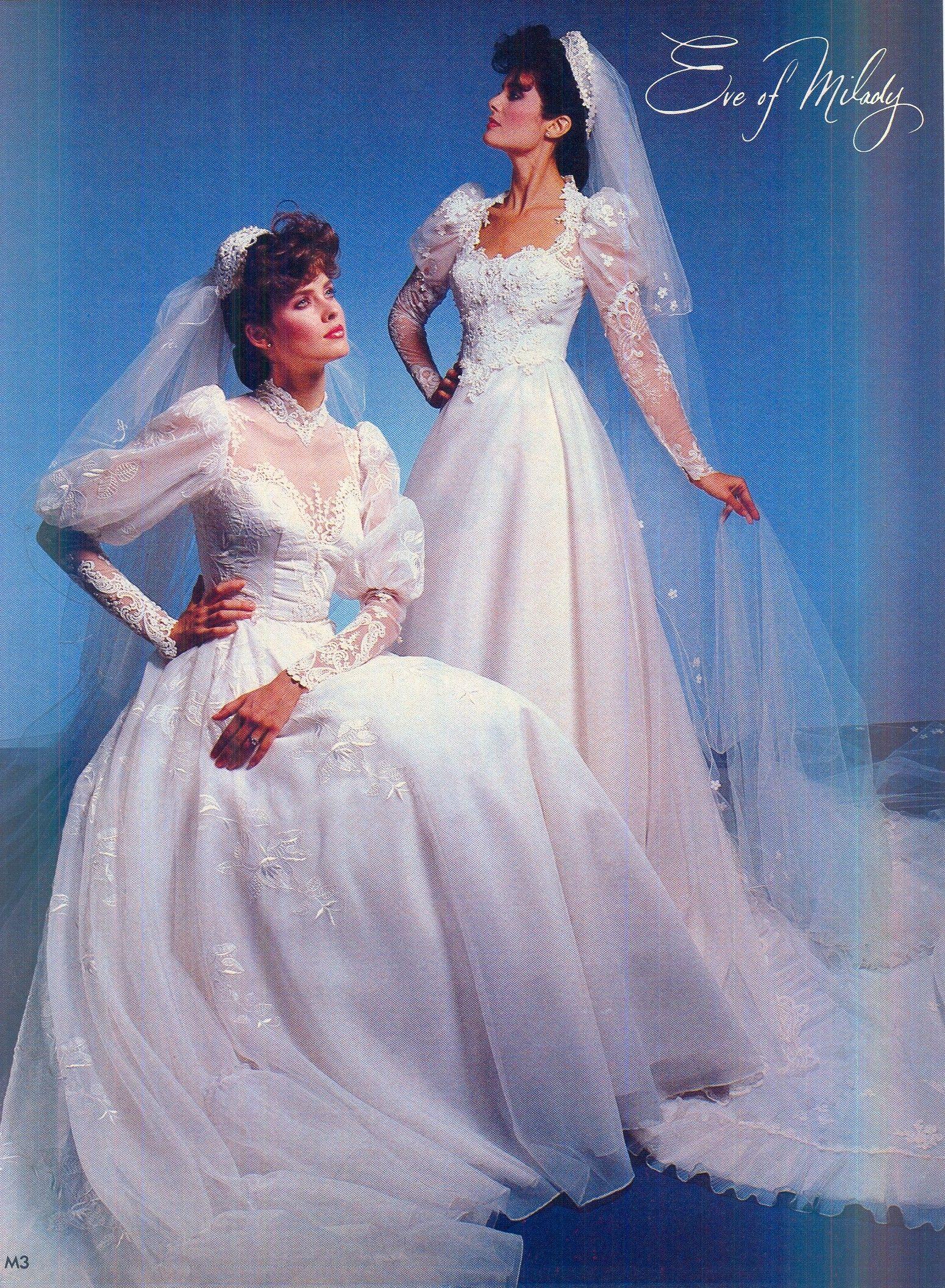 Eve of Milady 1983/84 Brides - Dec/Jan | Vintage Weddings in 2018 ...