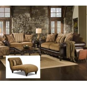 CORINTHIAN 78A3 Sofa Loveseat Chaise Group Set Living Room