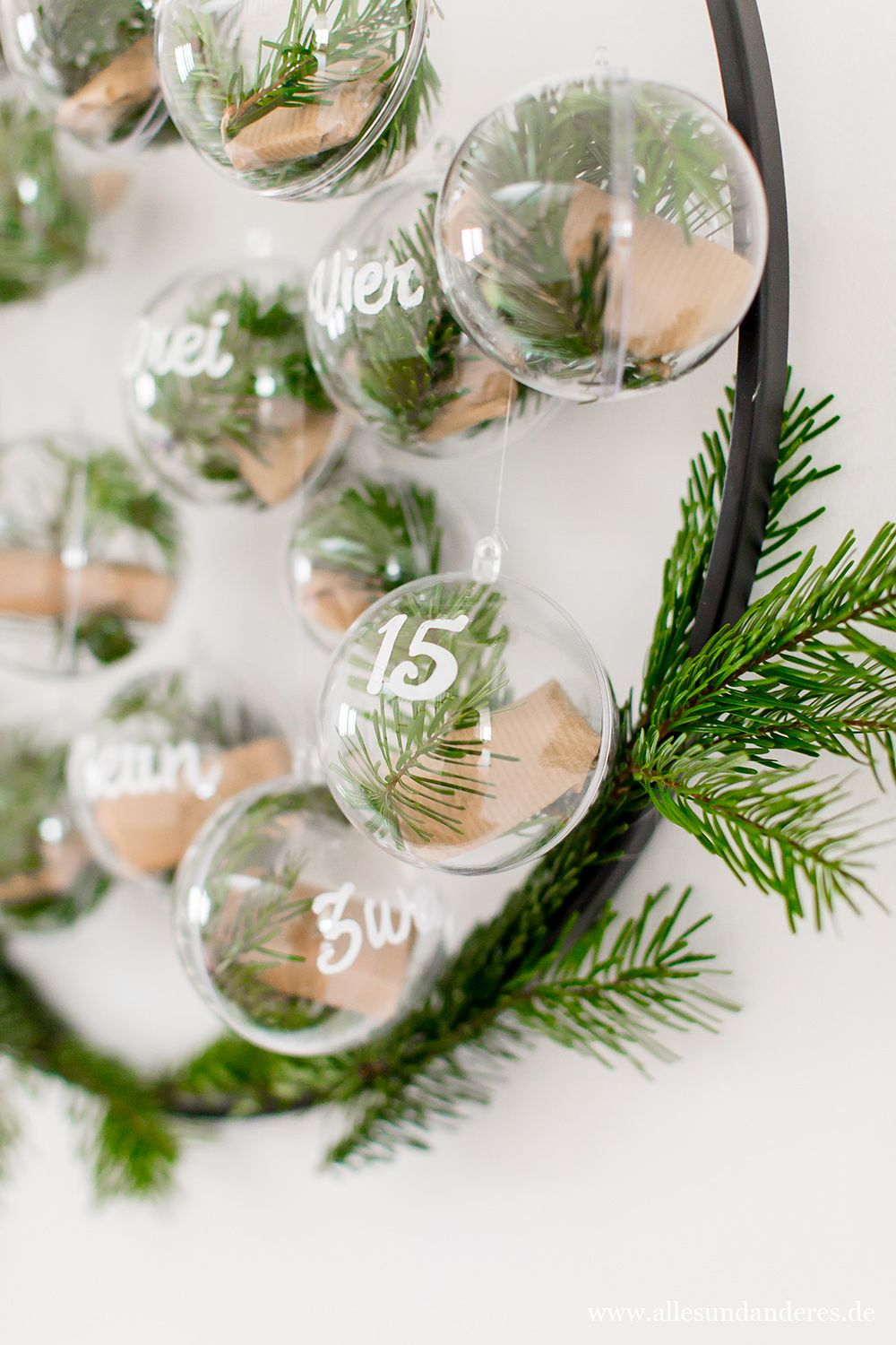 DIY: Adventskalender im Scandi-Look