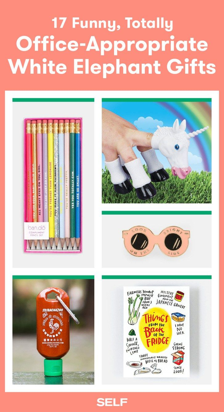 31 Funny White Elephant Gifts For 20 And Under White Elephant Gifts Funny White Elephant Gift Exchange Ideas Funny White Elephant Gifts
