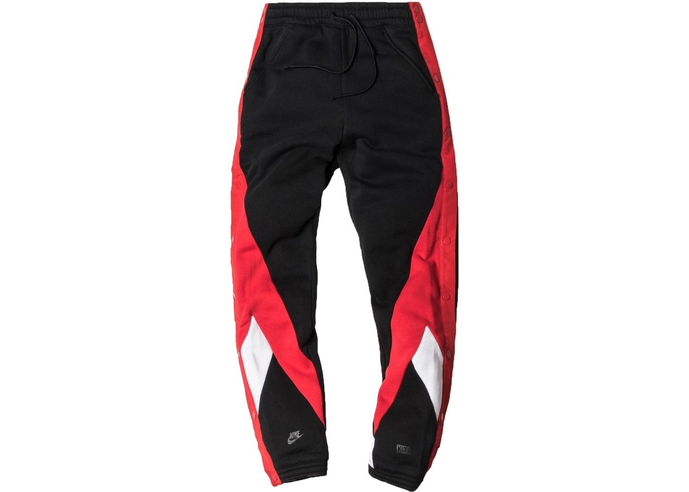 5821813528a9 Kith Nike Tearaway Pant Black Red in 2019