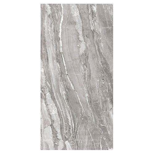 Dark Grey Marble Effect Floor Tiles