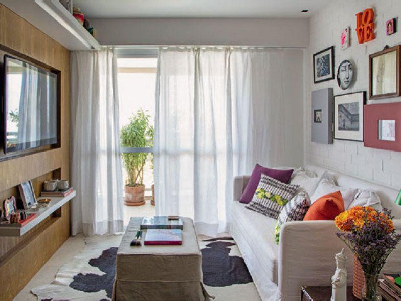 Sala pequena tr s dicas para decorar um ambiente de 9 m for Salas pequenas para casas pequenas