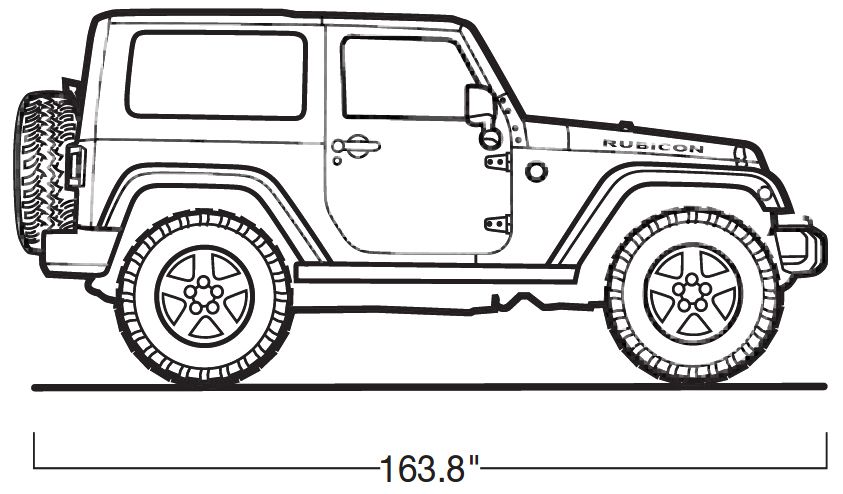 jeep wrangler official drawing