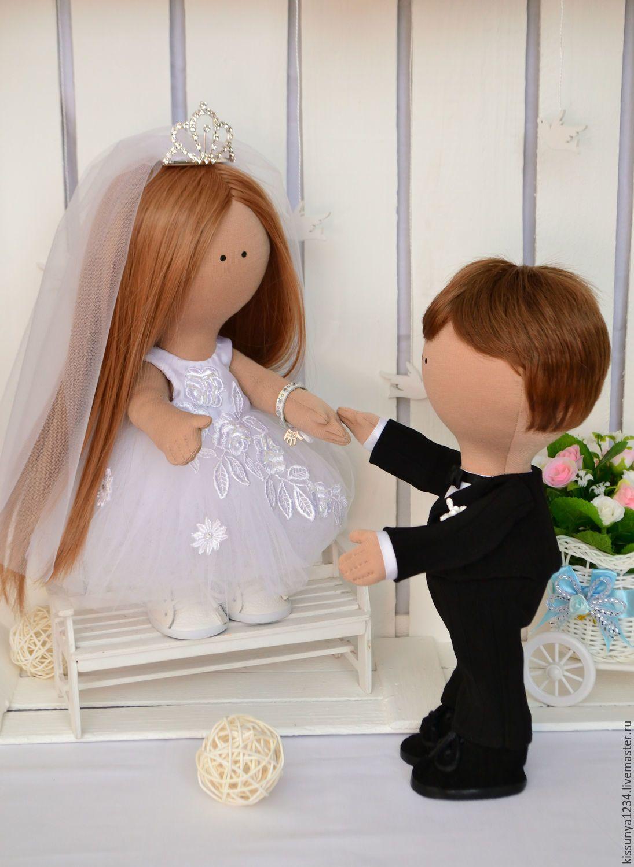 Gift For Wedding Summer Outdoors Wedding Gift For Couple Tilda Doll