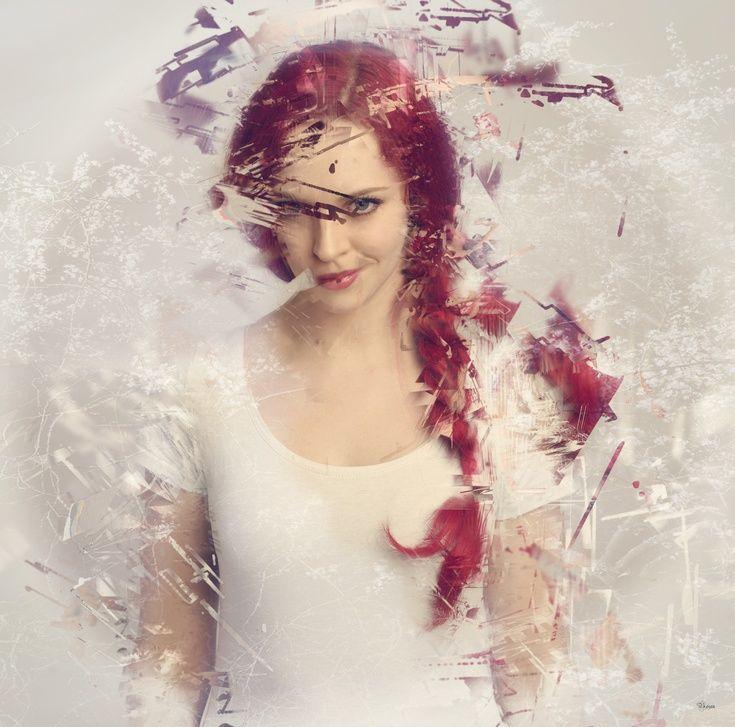 ARTFINDER: Red Hair Girl by Bojan Jevtić - Model Faestock