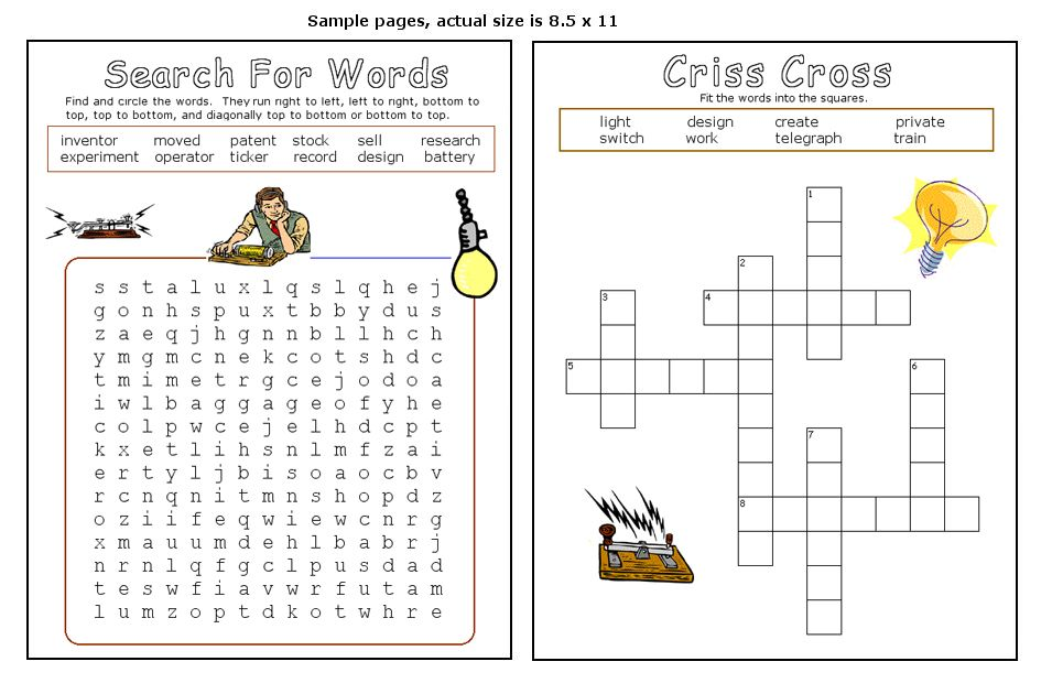 Word Search And Cross Word Puzzle Printable Word Puzzles Word Puzzles Printable English Worksheets For Kids