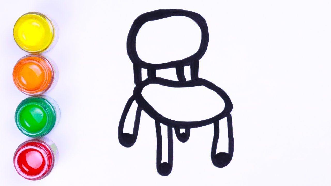 Menggambar Dan Mewarnai Kursi