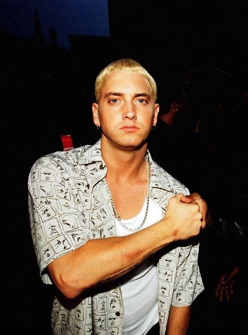Eminem The Only Blonde I Prefer The Eminem Show Eminem The