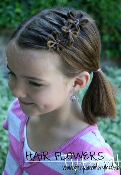 10 Cute Easter Hairstyle Looks Ideas For Kids Girls Kids Hairstyles Hair Styles Girl Hair Dos