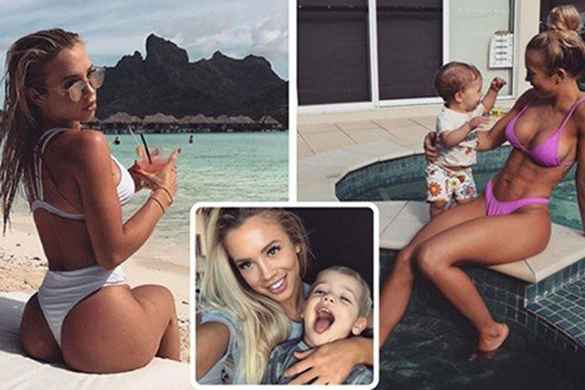 Tammy Hembrow Reveals Her Gruelling Booty Workout In The Gym: She's The Australian Mother-of-two Who Khloe Kardashian