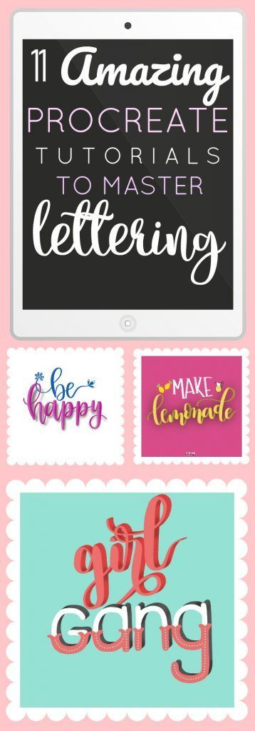 11 Amazing Procreate Lettering Tutorials to Master Your Skills ⋆ The Petite Planner