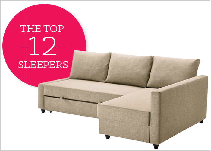 sofas for small es convertible sofa bed ikea 12 affordable and chic sleeper living spaces