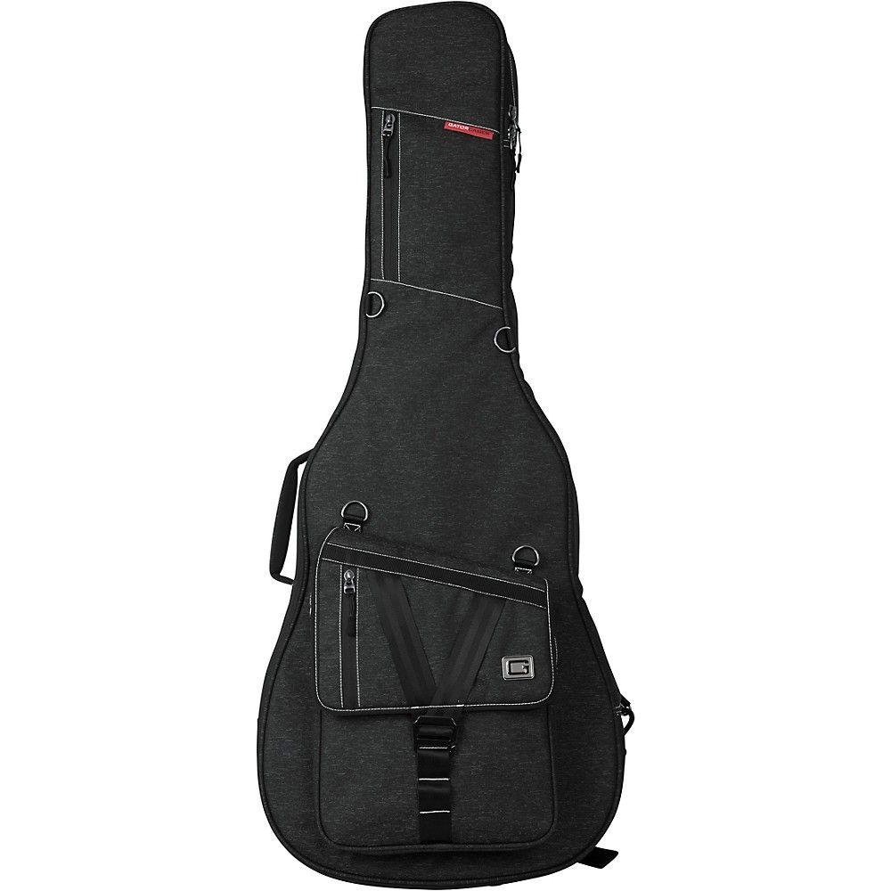 Gator Gt Acoustic Tp Transit Acoustic Guitar Bag Black Guitar Bag Acoustic Guitar Guitar Case