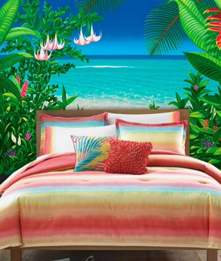 Pin By Stacie Beeson On Bedroom Ideas Tropical Bedrooms