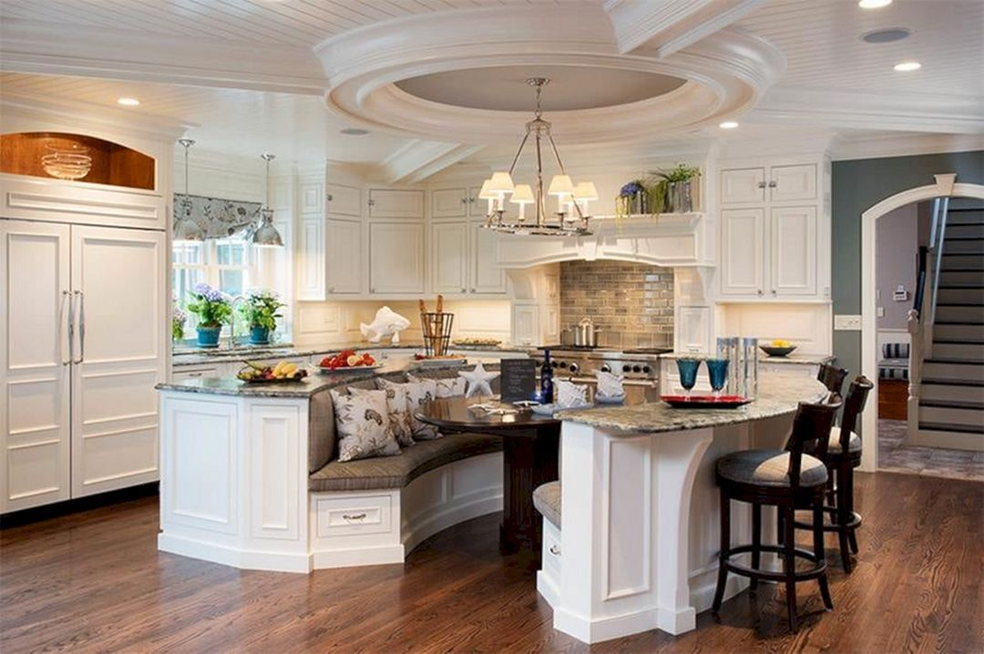15 Marvelous Kitchen Island Booth Design You Have To Know Home Diy Ideas Banquette Seating In Kitchen Kitchen Island Booth Kitchen Island Design