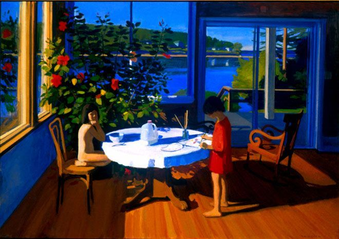 Art Kurt Solmssen, 2013 Art, Art Favorites, Solmssen Summer, Solmssen Paintings, Paintings 1999, Favorite Paintings, 2014 Art, Summer Breakfast